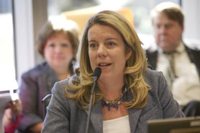 Legislator Kara Hahn has proposed legislation that would regulate county food vendors. (Courtesy photo)