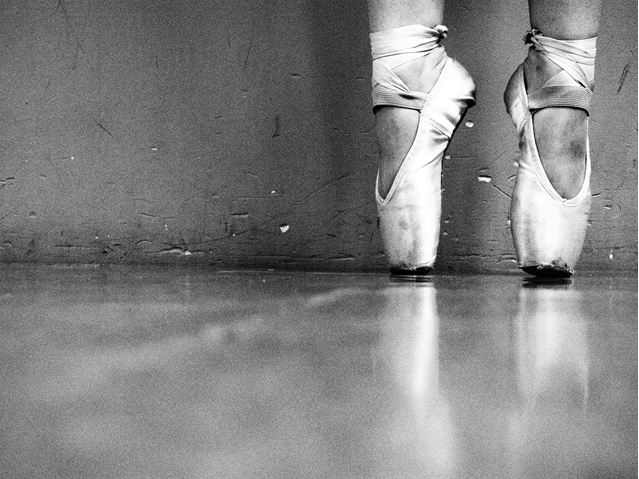 Amanda's photo, On Pointe.