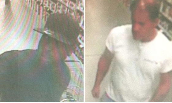 COURTESY SCPD | Police say these two men stole from Lowe's last month.