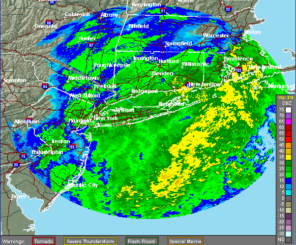 (Credit: National Weather Service radar)