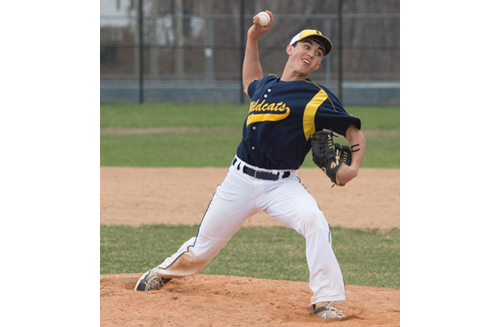 In two varsity starts, Shoreham-Wading River freshman Brian Morrell has two no-hitters. (Credit: Robert O'Rourk file photo)