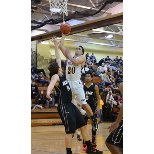 Shoreham-Wading River basketball player Doug DeMaio 010716