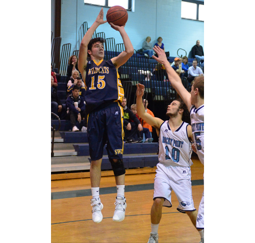 Shoreham-Wading River basketball player Jason Curran 123015