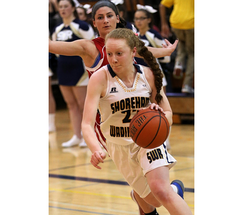 Shoreham-Wading River basketball player Mackenzie Zajac 112916