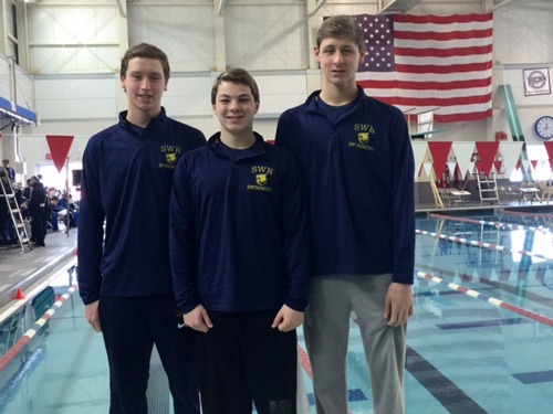 Shoreham-Wading River boys swimming 022216