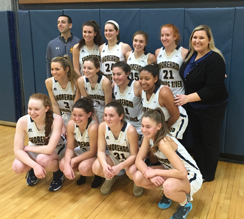 Shoreham-Wading River girls basketball 021117