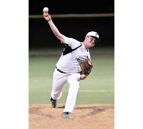 Shoreham-Wading River pitcher Zach White 061416