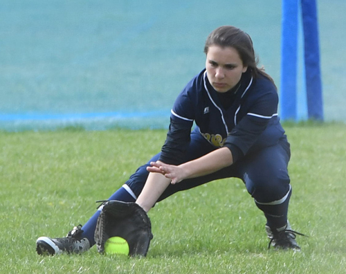 Shoreham-Wading River softball player Kat Opiela 042516