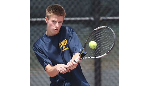 Shoreham-Wading River tennis player Chris Kuhnle 051616
