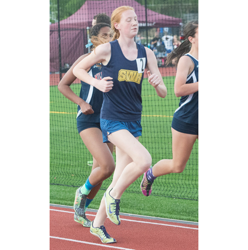 Shoreham-Wading River sophomore Alexandra Hays was a runner-up in the 3,000 meters at last year's Section XI Individual Championships. (Credit: Robert O'Rourk, file)