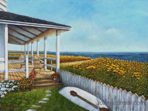"'New Suffolk Porch"" by Jo-Ann Corretti"