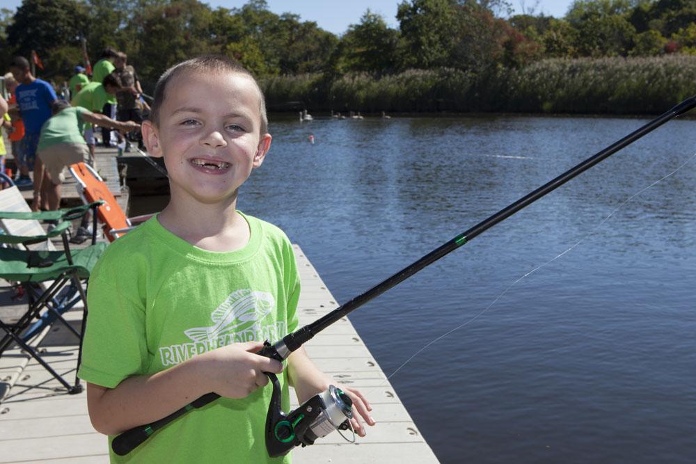 Brendan Lamonica, 8, of Wading River.