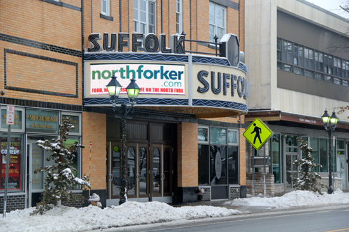 The Suffolk Theater. Carrie Miller photo.
