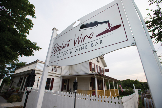 The Petulant Wino in Aquebogue was broken into early Tuesday morning, police said. (Credit: Randee Daddona, file)