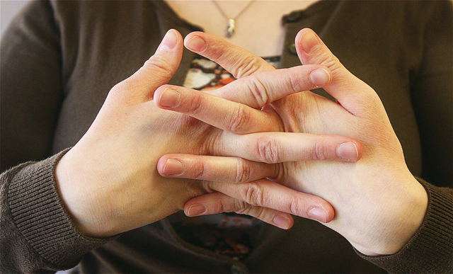 The author has always been able to crack her knuckles — and almost all her other joints, for that matter. But is the habit bad for your health? (Credit: Barbaraellen Koch)