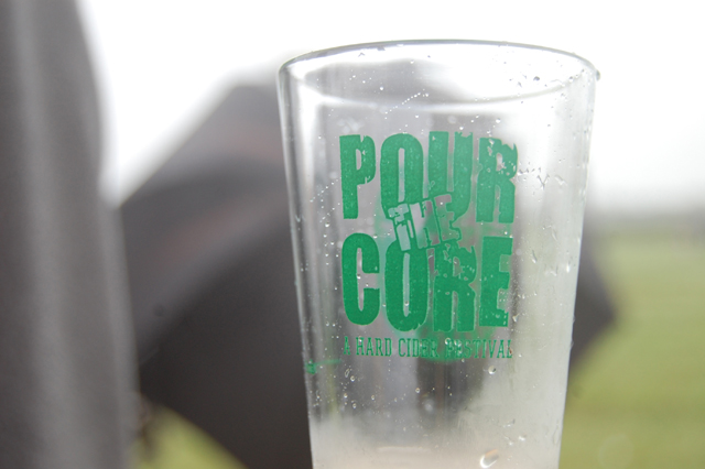 The third annual Pour the Core hard cider festival at Peconic Bay Winery.