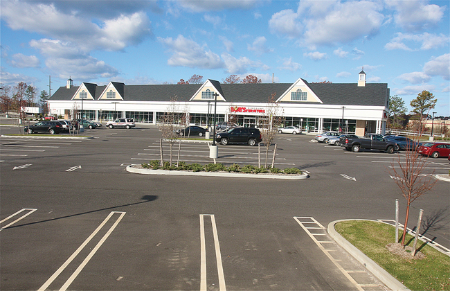 Peconic Bay Medical Center is seeking to build a 3,500-square-foot medical site in the corner of Gateway Plaza, where Bob's Discount Furniture is located. (Credit: Barbaraellen Koch)