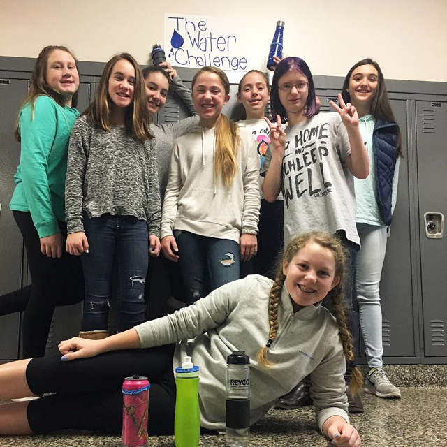 The Water Challenge at Riverhead Middle School