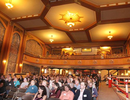 Downtown Riverhead, Suffolk theater, first event