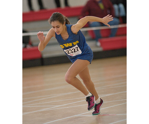 GARRET MEADE PHOTO  |  Shoreham-Wading River  senior Laura Lee was second in the 600.