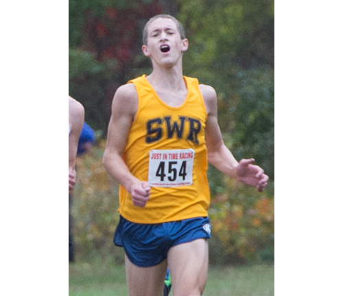 ROBERT O'ROURK PHOTO  |  Shoreham-Wading River junior Ryan Udvadia was honored as the top runner in the county.