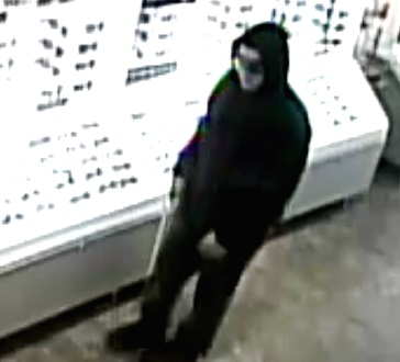 Police said this man robbed Sunglass Hut in Tanger earlier this week. (Credit: Suffolk County Crime Stoppers)