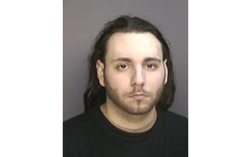 Nicholas Sokol mug shot (Credit: Riverhead Police Department)