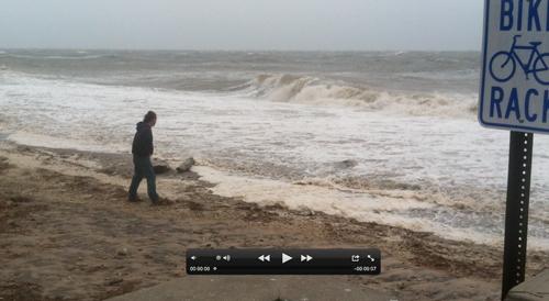 Wading River Beach, Video, Riverhead, Hurricane Sandy, Long ISland Sound