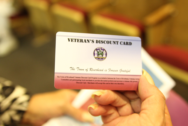 Veterans Discount Card