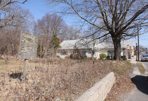 NEWS-REVIEW FILE PHOTO | Land in Jamesport that fronts the 34 acres being seized by the Suffolk County Sheriff's Office.