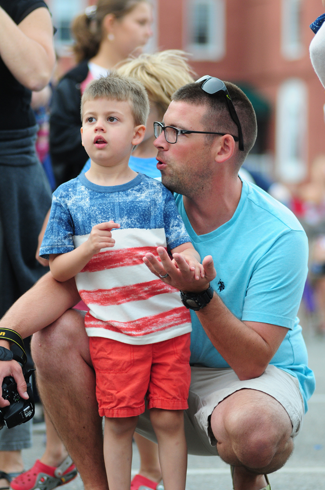 It was fun for all ages Saturday night in downtown Riverhead.