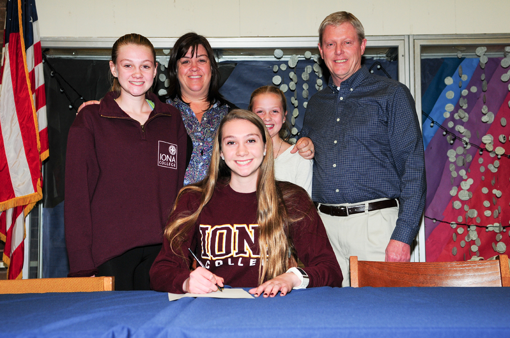 Kaitlyn Ohrtman will run cross country at Iona College. (Credit: Bill Landon)