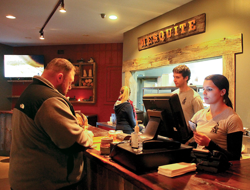 "Mesquite opened in October, and has had a ""very good"" first few weeks, said owner Craig Scali. (Credit: Paul Squire)"
