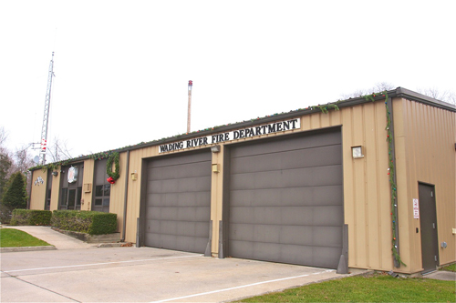 The Hulse Landing Road fire house is in need of upgrades, district officials say. (Credit: Barbaraellen Koch file)