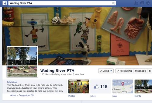 Wading River PTA Facebook