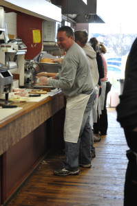 RACHEL YOUNG PHOTO | Adam Nedvin, the new owner of Wading River Delicatessen on Route 25A.