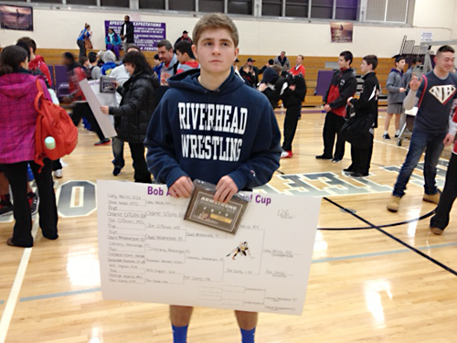 Riverhead's Cody Weiss was the (Credit: Michael Lewis)