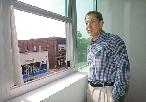 "Michael Butler, managing partner with Woolworth Revitalization, LLC, said Riverhead has ""all the components."""