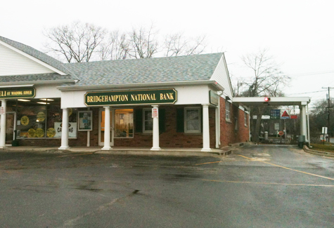 PAUL SQUIRE FILE PHOTO | The Bridgehampton National Bank branch in Wading River.