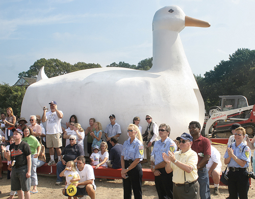 The Big Duck in Flanders. (file photo)