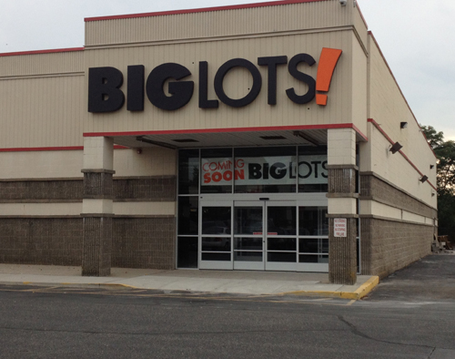 RACHEL YOUNG PHOTO | Big Lots will open on Route 58 in Riverhead at the end of the month.