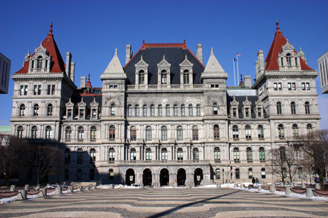 FILE PHOTO | The state capitol in Albany.