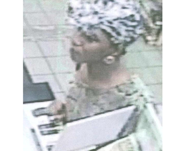 COURTESY SCPD | Police are looking for this woman in connection with a grand larceny.