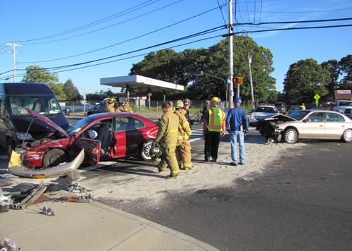 Ostrander Avenue, Route 58, RIverhead Fire Department