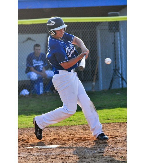 Riverhead second baseman Cody Dilworth delivered the game-winning hit Friday for Riverhead against West Islip. (Credit: Bill Landon)