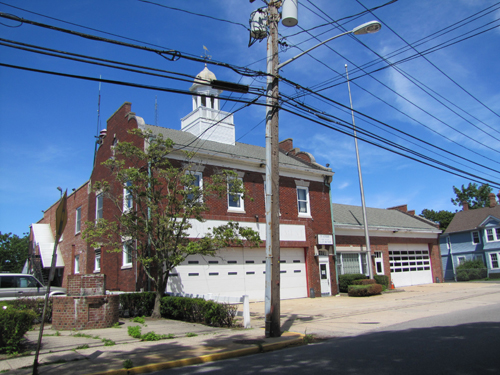 The Second Street firehouse was obtained by Riverhead Town in 2011 in a land swap with the Riverhead Fire District. (Credit: Barbaraellen Koch file)