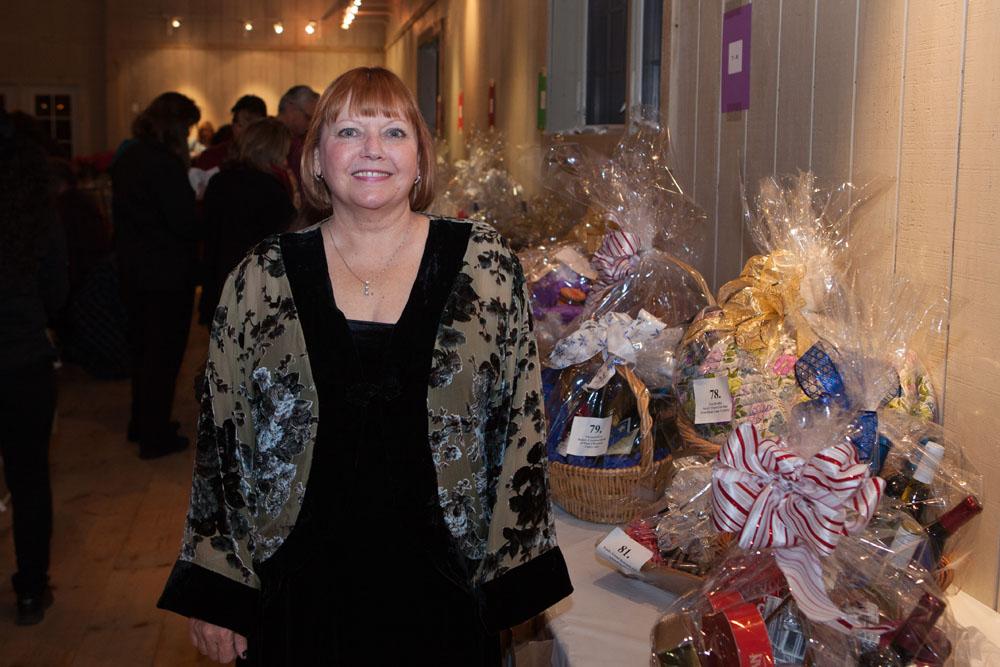 Event coordinator Charlene Cheshire.