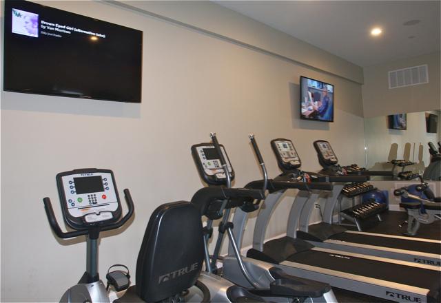 The fitness center. (Credit: Barbaraellen Koch)