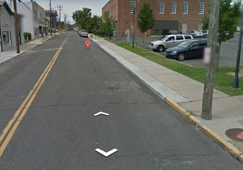 Looking north on Griffing Avenue in Riverhead. (Credit: Google Maps)