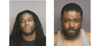 Brian Houpe Jr. (left) and Spencer Khashif. (Credit: Riverhead police)